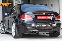 _Supersprint Duplex-Racinganlage rechts links je 2x 80 inklusive Downpipe - BMW 1er E82 M Coupé ab 2011
