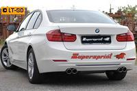 Supersprint Sportauspuffanlage rechts-links je 2x80 rund - BMW F30-F31 328i 2.0T ab Bj. 12