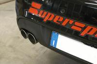 Supersprint Sportauspuff Endrohre rechts-links 2x rund - Hyundai Genesis Coupe 2.0i RS Turbo ab Bj. 11