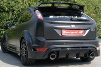 _Supersprint Sportauspuff Ford Focus RS 2.5i ab 09 und RS500 2.5i ab 10 - Racing-Komplettanlage mit Race-ESD rechts-links 120mm rund