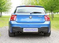 EISENMANN Sportauspuff Race Version BMW 1er F20 M135i - rechts links je 2 x 76mm