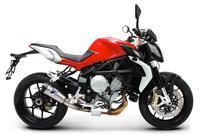 _Termignoni Slip On konische Form MV AUGUSTA Brutale B3 Version V4A/Titan Bj. 12-13