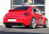 FOX RACING Komplettanlage ab Kat VW Beetle Typ 16 2.0l ab Bj. 11 - rechts links je 1 x 115x85mm Porsche Design (RohrØ 70mm)