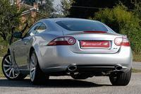 Supersprint Sportauspuff Jaguar XKR Coupe-Cabrio 4.2i und XKR 4.2i Supercharged ab 06 - Racinganlage ab Kat. rechts-links je 145x95