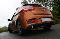 FOX Sportauspuff Hyundai i30 Turbo rechts/links je 1x100 Typ 27