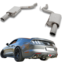 FOX Sportauspuff Ford Mustang Coupe & Cabrio 2.3l EcoBoost rechts links je 1x100mm Typ 25