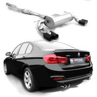 1_REMUS Duplex Komplettanlage Black Chrome BMW 3er F30/F31 330i/xDrive 252PS ab Bj. 2015