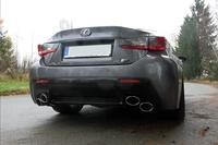 FOX Duplex Sportauspuff Lexus RC F re/li je 2x115x85mm Typ 38
