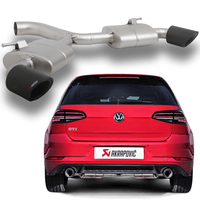 Akrapovic Racing-TITAN Sportauspuff Duplex VW Golf VII GTI Performance Facelift je 1x100mm