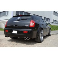 FOX Duplex Sportauspuff Chrysler 300C SRT8 rechts links je 2x100mm Typ 17