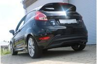 FOX Komplettanlage ab Kat. Ford Fiesta 6 1.6l 88kW 145x65mm Typ 59 Black/ Red Edition