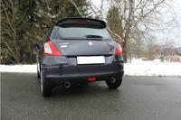 FOX Sportauspuff Komplettanlage ab Kat. Suzuki Swift Sport IV 4x4 rechts links je 1x90mm Absorber