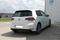 FOX Duplex Racinganlage ab Kat. VW Golf VII mit starrer Hinterachse R-Optik re li 2x115x85mm Typ 32