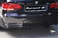 Supersprint Duplex-Sportauspuff RACING rechts links je 2x 80mm - BMW M3 E92 Coupé ab Bj. 07 u. E93 Cabrio ab Bj. 07