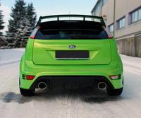 Ford Focus 2 RS ab Bj. 09 2.5l FOX Komplettanlage ab Kat. rechts links je 1 x 129x106mm oval (RohrØ 63.5mm)