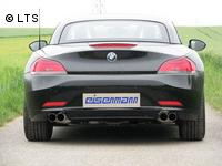 EISENMANN Sportauspuffanlage BMW Z4 E89 Roadster 23i  30i sDrive rechts links je 2 x 76mm - RACE-Version