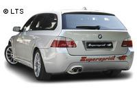 _Supersprint Sportauspuffanlage ab Kat. 2x 80 mm Power Loop - BMW 5er E60/E61 545i V8 Bj. 03-06 und 540i V8-550i V8 ab Bj. 06