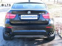 EISENMANN Sportauspuff BMW E71 X6 35i N55 xDrive  rechts links je 2 x 90mm RACE Version