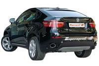 981515CAR.jpg_Supersprint Sportaufpuff Endrohrsatz 150x105mm oval - BMW X6 E71 3.5i-3.0d-3.5d