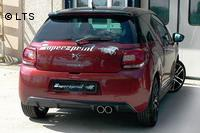 Supersprint Sportauspuffanlage ab Kat. - Citroen DS3 THP 1.6i 16V ab 2010
