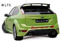 Supersprint Duplex-Sportauspuffanlage inkl. Metall-Kat. re-li rund - Ford Focus RS 2.5i ab 09 und RS500 2.5i ab 10