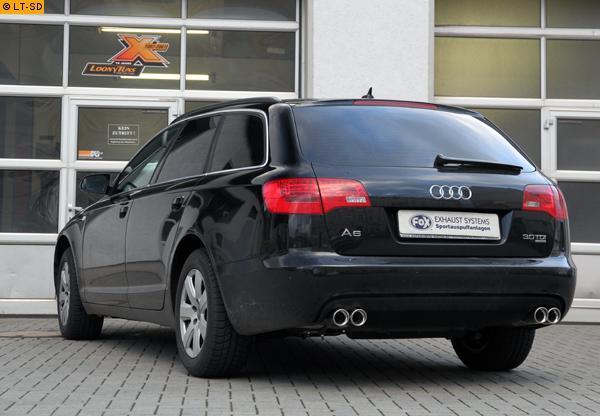 Avant FOX Sportauspuff Vorschalldämpferersatzrohr re li Audi RS6 4F C6 Limo u