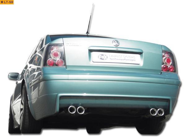 Auspuff Mittel//Endschalldämpfer ab KAT für VW Passat 3B 1,8 Limo Variant Kombi
